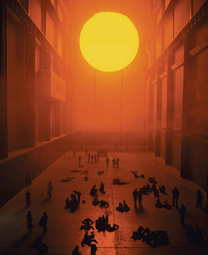 The weather project (Olafur Eliasson)