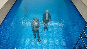 Swimming Pool, Museum Voorlinden (Leandro Erlich)